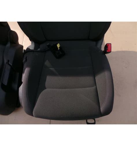Siege Golf 5 - 2 sièges avant en tissu pour vw golf 5 modèle 5 portes