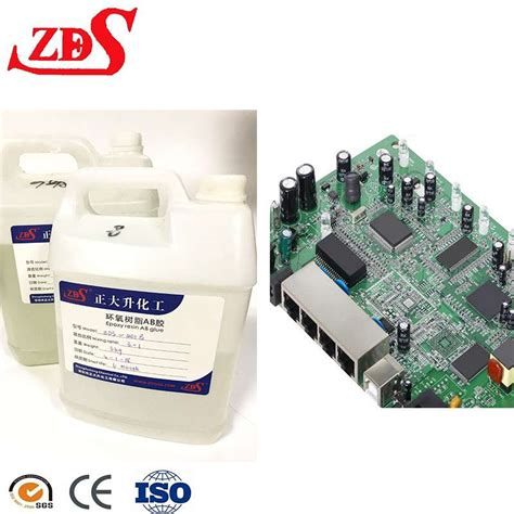 Clear Waterproof Zds Epoxy Resin For Circuit Board Potting