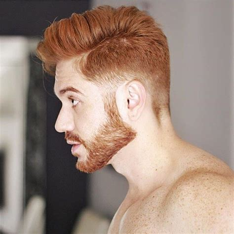 pin  guys haircuts  red hair