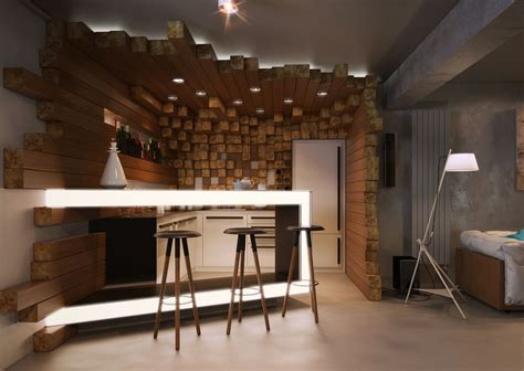 Bar In House by Cgarchitect Professional 3d Architectural Visualization