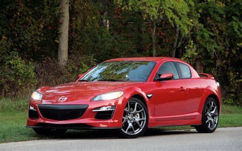 Red Mazda Rx8 Black Rims