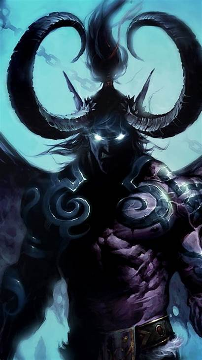 Warcraft Wow Wallpapers Iphone King Lich Mobile