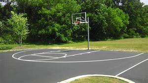 Installing a Basketball Court in Syracuse NY CNY Sealing