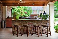 great patio bar design ideas 20+ Spectacular outdoor kitchens with bars for entertaining