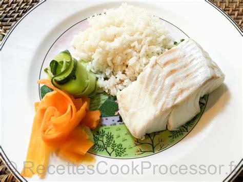 cuisine hollandaise recette dos de cabillaud tagliatelles de légumes riz recettes