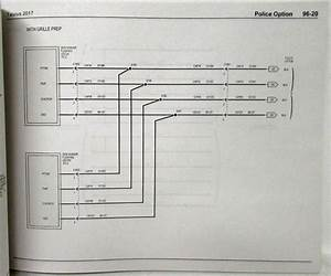 2017 Ford Taurus Interceptor Electrical Wiring Diagrams Manual