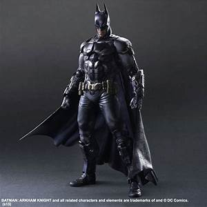 More Play Arts Kai Arkham Knight Batman Images - The ...