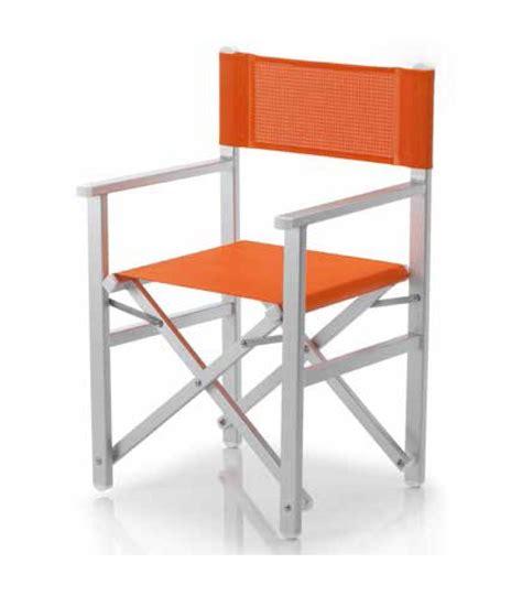 fauteuil de metteur en fauteuil pliant aluminium metteur en sc 232 ne ramberti et toile