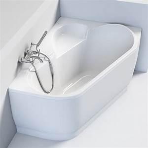 Baignoire D Angle Asymétrique : baignoire d 39 angle asym trique droite 147 x 100 cm selena ~ Dailycaller-alerts.com Idées de Décoration