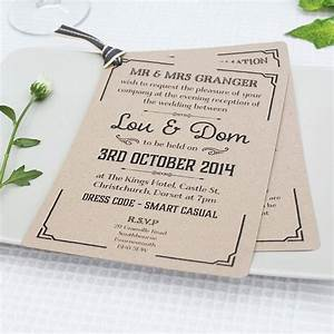 gatsby style wedding evening invitation by lou brown With wedding invitations for the evening