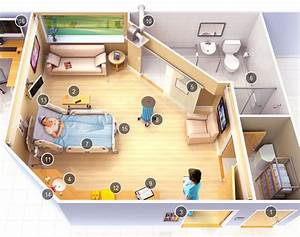 Sixteen Features Of The Safe Hospital Room