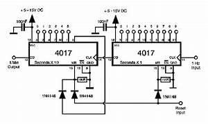 4017 overheat shorting out problem all about circuits With 4541 datasheet