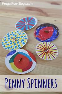 Penny Spinners – Toy Tops that Kids Can Make!