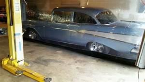 Chevrolet Bel Air  150  210 Sedan 1957 Blue For Sale  Item