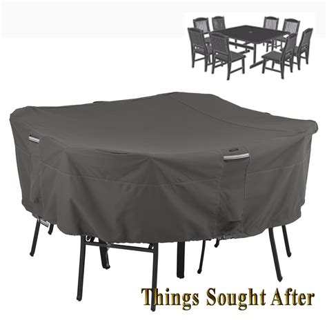 cover for lrg square patio table chair set outdoor