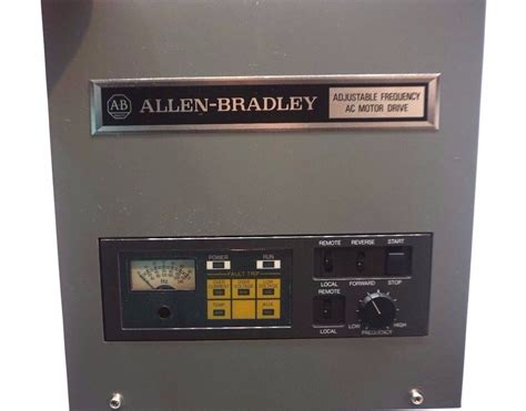 Ac Motor Drive by Used Allen Bradley 1332 Aaa Adjustable Frequency Ac Motor