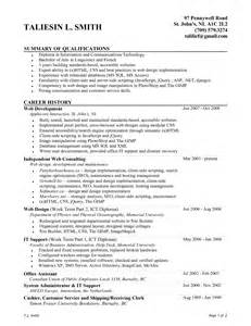 bachelor business administration resume sle mainframe administration sle resume uxhandy