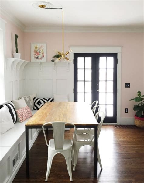 diy dining nooks  banquettes decorating  small space