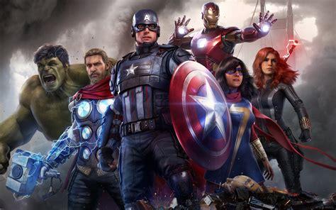 2880x1800 Marvels Avengers Game All Superheros Macbook Pro ...