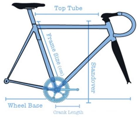 Bicycle Frame Sizing Guide What Size Bike Need