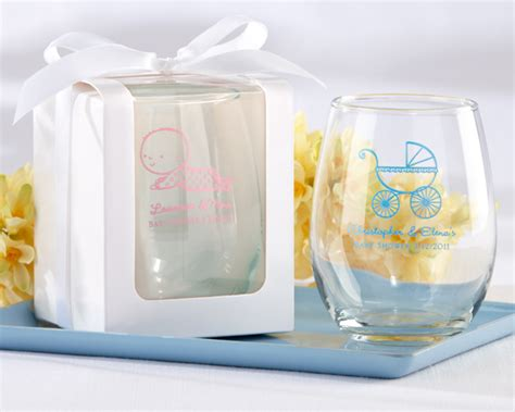 personalized stemless wine glasses for bridesmaids personalized baby shower stemless wine glasses my