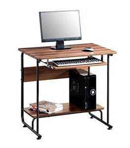 modern small pc computer desk with keyboard tray make great compact desks for home office small