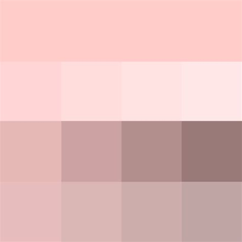 pale pink color pale pink shades hue color with tints hue