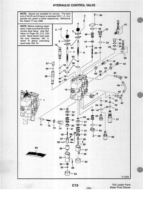 Bobcat 863 Hydraulic Valve Diagram by We A Bobcat 743 The Top Valve On The Valve Block Is