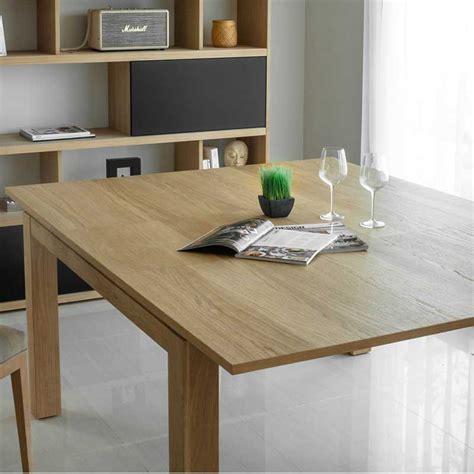 table de salle à manger extensible table de salle 224 manger extensible quot nathan quot 140 190cm ch 234 ne massif