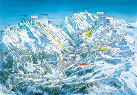 chambre d hote 74 plan des pistes de méribel guide des stations ski flv fr