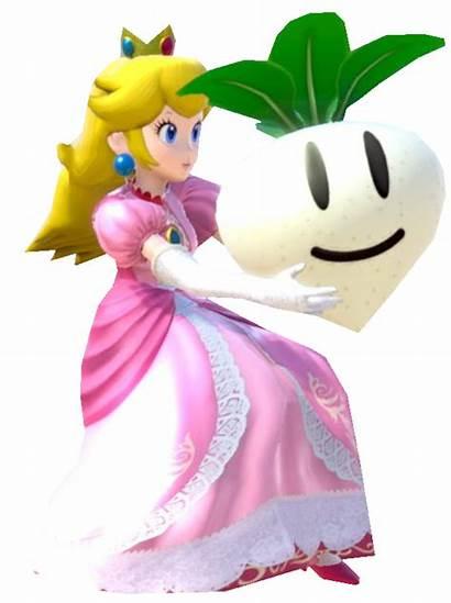 Peach Princess Turnip Holding Deviantart