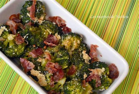 recette de brocolis poêlés à la pancetta et au parmesan