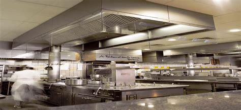 hotte cuisine professionnelle règles de conception d 39 une cuisine professionnelle