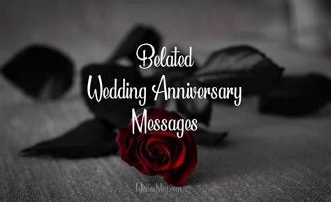 belated anniversary wishes  messages  late card wishesmsg