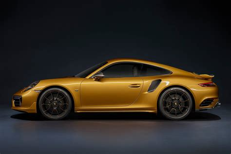 The new 2018 Porsche 911 Turbo S Exclusive Series with ...