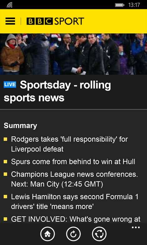 BBC Sport for Windows 10 free download