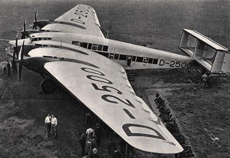 Junkers G.38 🇩🇪 - 1929 : WeirdWings