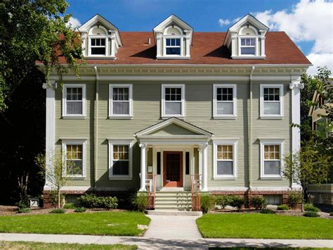 colonial homes colonial architecture hgtv