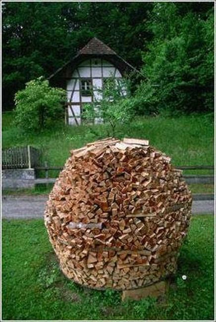 creative firewood storage ideas turning wood