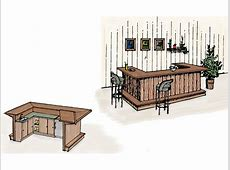 Wet Bar Building Plan 002D1500 House Plans and More