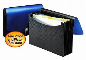 review of smead poly expanding file letter size blue black With smead expanding file 12 pockets poly letter black blue
