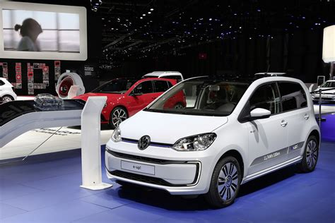 electric vw e up joins updated range in the uk priced