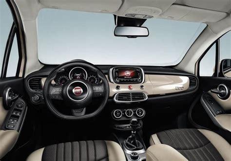 Fiat 500x Interni - foto fiat 500x interni prime immagini ufficiali patentati