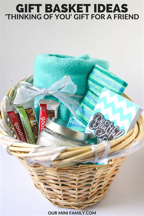 thinking   gift basket homemade gift baskets