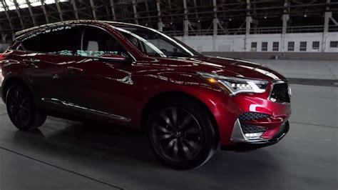 2019 Acura Rdx Prototype Driving Video Youtube