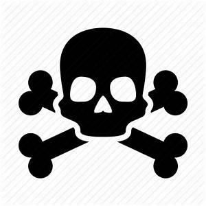 Caution, danger, death, pirate, poison, skull, warning ...