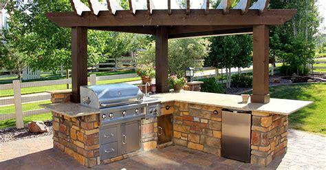 Cheap Outdoor Kitchen Ideas Hgtv  Modern Garden
