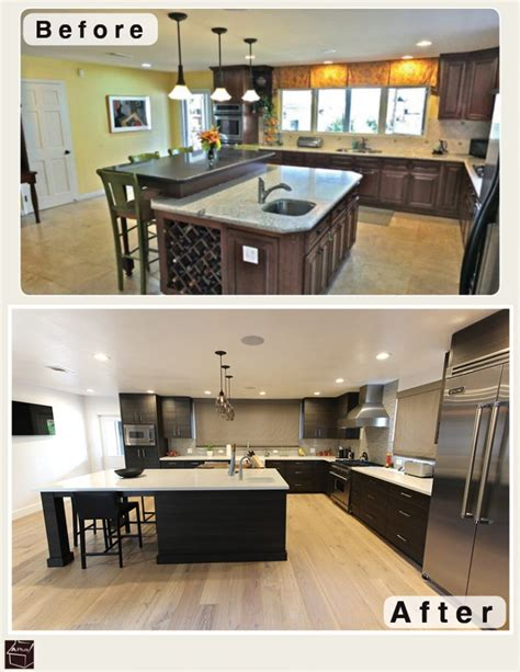 modern kitchen cabinets orange county black contemporary modern l shaped kitchen and 9218