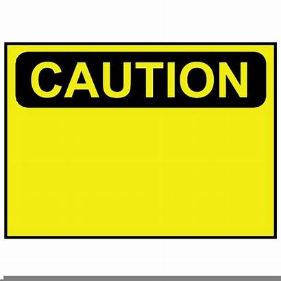 Caution Vector Sign Clipart Clip Warning Clker