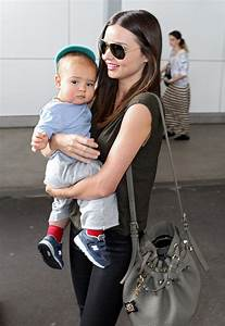 Miranda Kerr takes Flynn Bloom with her when she needs to ...